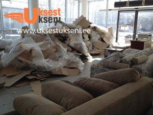Vana mööbli äravedu, mööbli utiliseerimine, ehitusjäätmete äravedu, vana kola äravedu.Uksest Ukseni Kolimisteenus (2) Vana mööbli äravedu, ehitusprahi äravedu, mööbli utiliseerimine Tallinnas